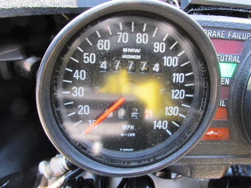 A Speedometer Palindrome, I Watch For These To Show Up