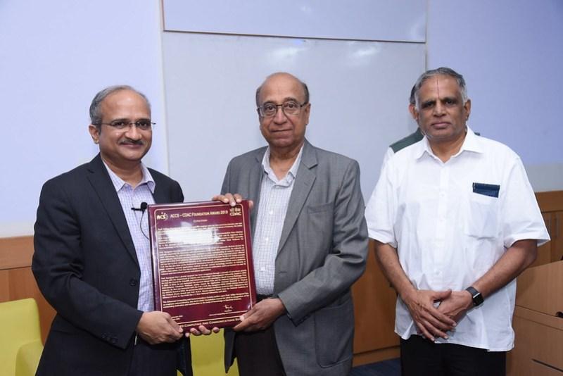 ACCS-CDAC FOundation Award 2019