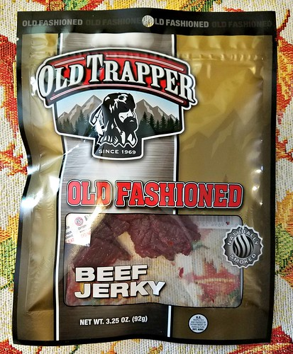 Old Fashioned Old Trapper Beef Jerky ~ Product Review @old_trapper #MySillyLittleGang @SMGurusNetwork #WhatsYourBeef