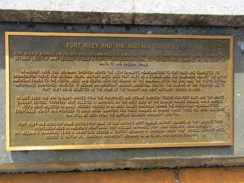 Brief History of Fort Riley