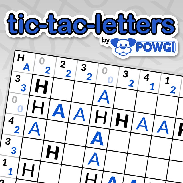 Tic-Tac-Letters By Powgi