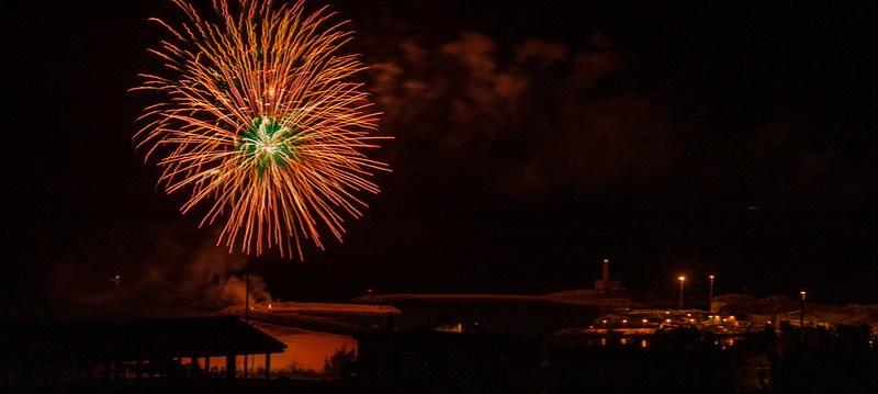 Vieste Feuerwerk