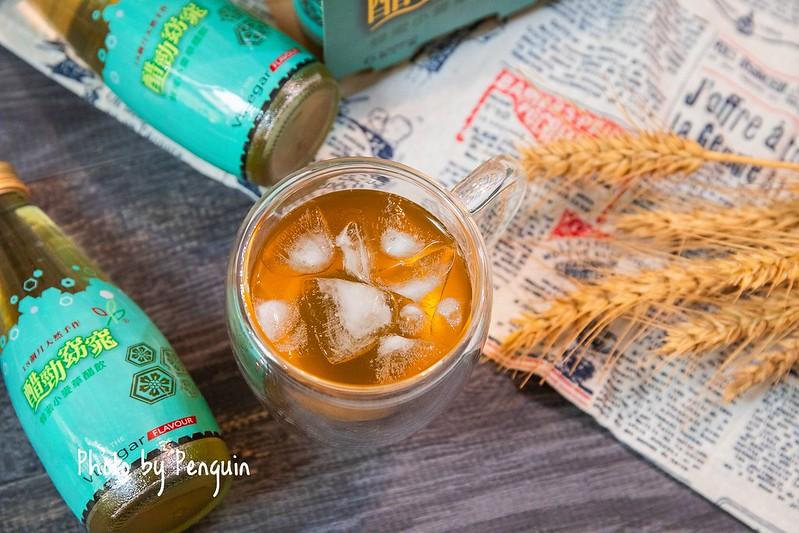 南投.醋王極品.醋勁窈窕的蜂蜜小麥草醋飲,來自埔里好水製作.餐後飲用好解膩。 – 肥油太厚-鵝娘的後宮