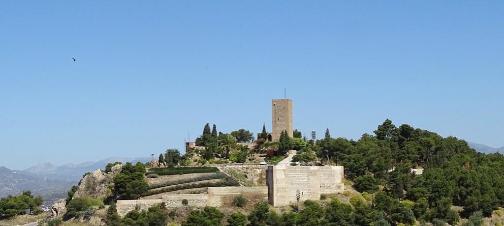 vista exterior de la Alcazaba La Fortaleza Velez Malaga Málaga 03