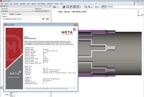 Working with BETA CAE Meta Post 19.1.4 full cracked