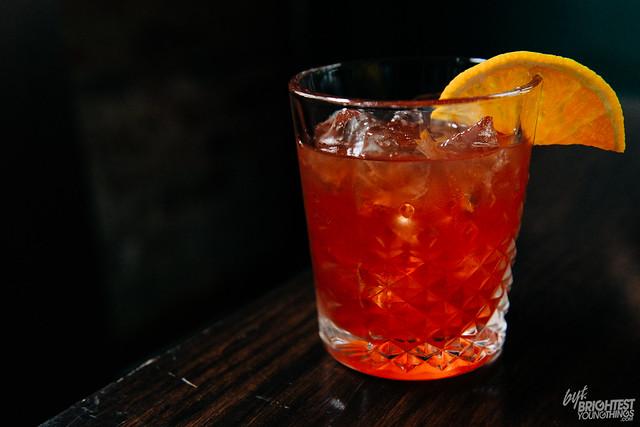 Fall Cocktail at Bar Deco