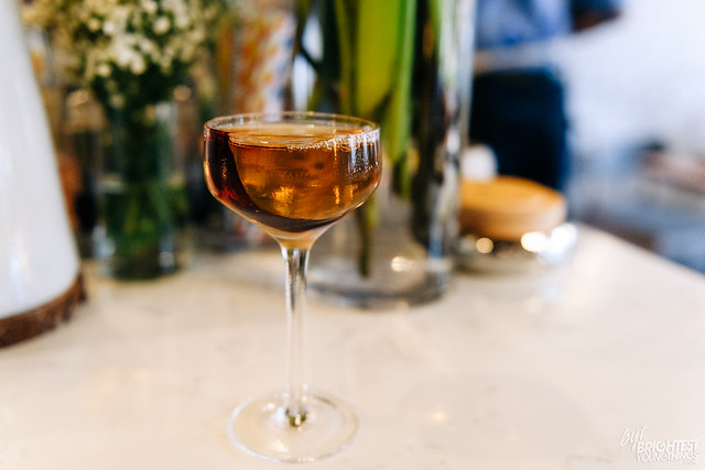 Fall Cocktail at Bresca