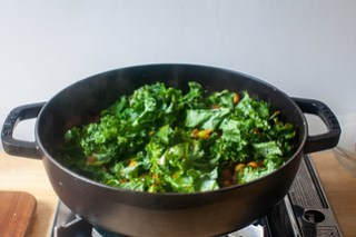 add the kale