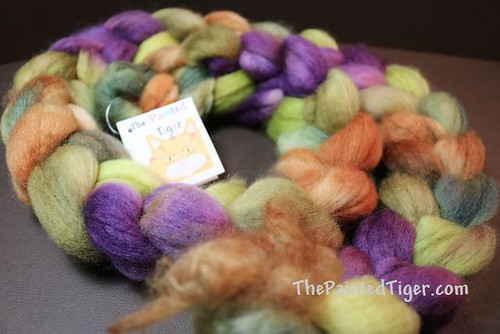 Dappled Autumn - SW BFL Nylon 80/20 - August 2019 Tiger Club