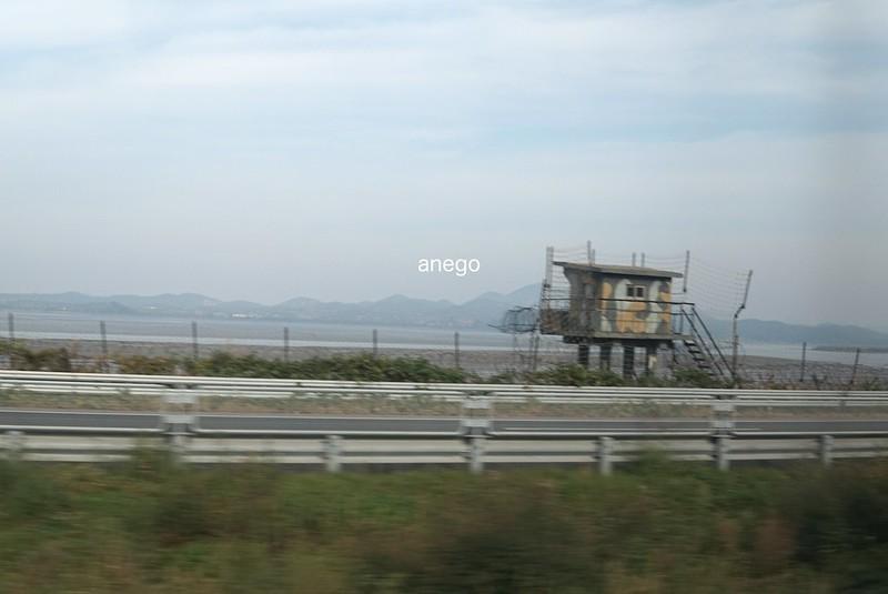 対岸は北朝鮮