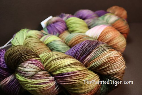Dappled Autumn - Targhee Sock Yarn - August 2019 Tiger Club