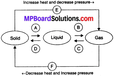 MP Board Class 9th Science Solutions Chapter 1 Matter in
