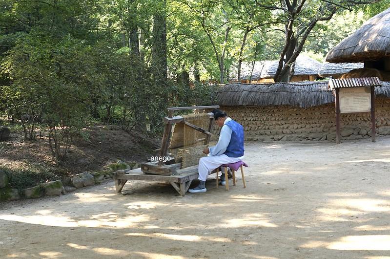韓国民俗村 縄結