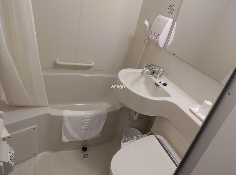東横イン バスルーム