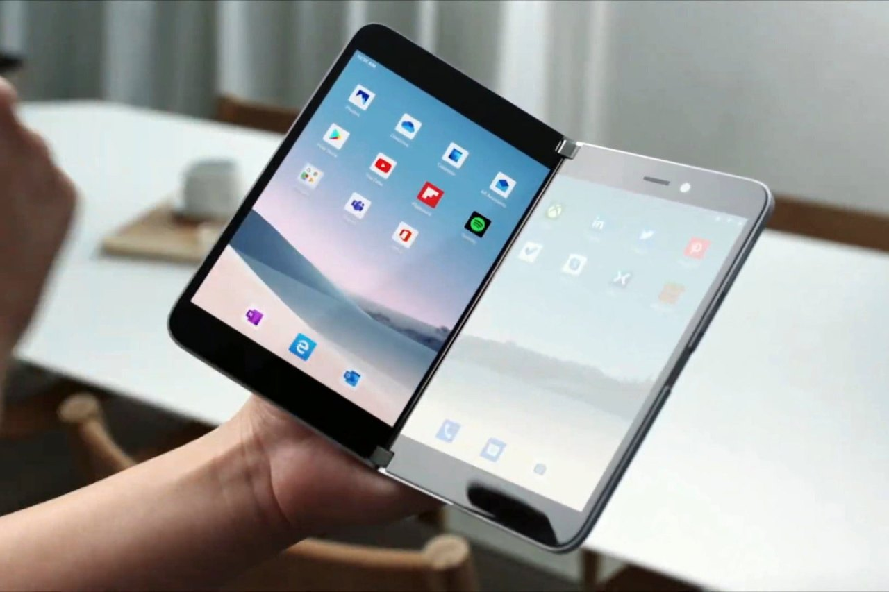微軟推了支雙螢幕Android手機Surface Duo