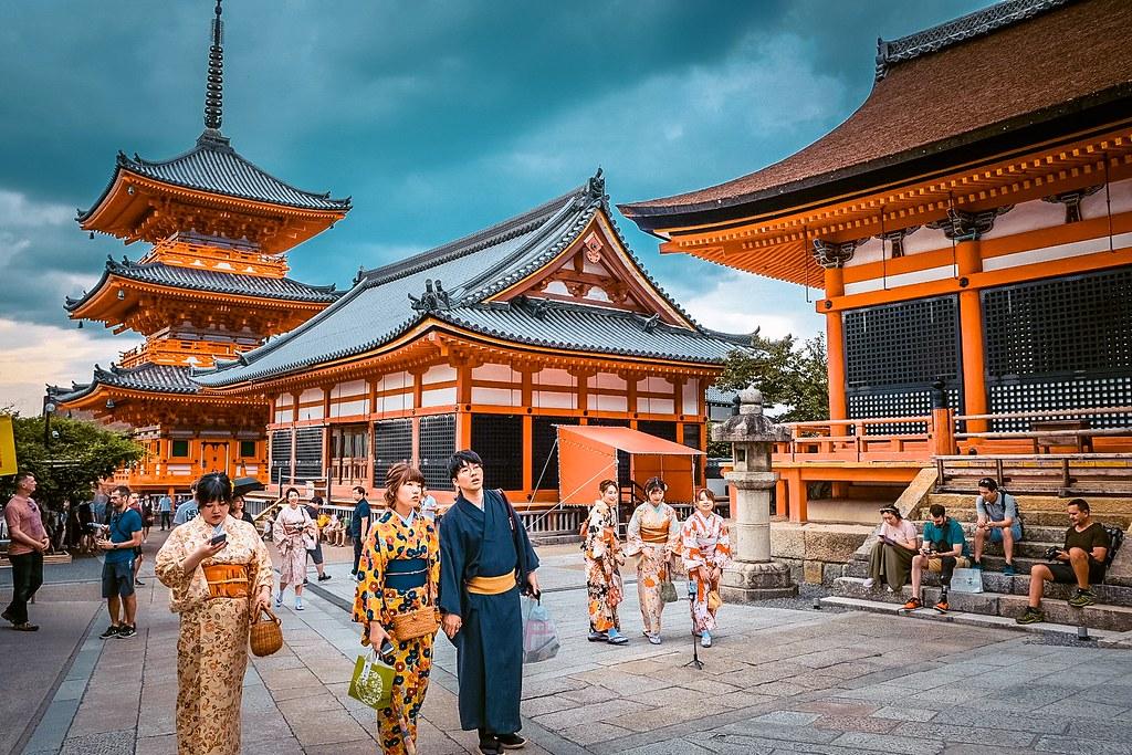 Kiyomizu-dera Temple | Kyoto Osaka itinerary