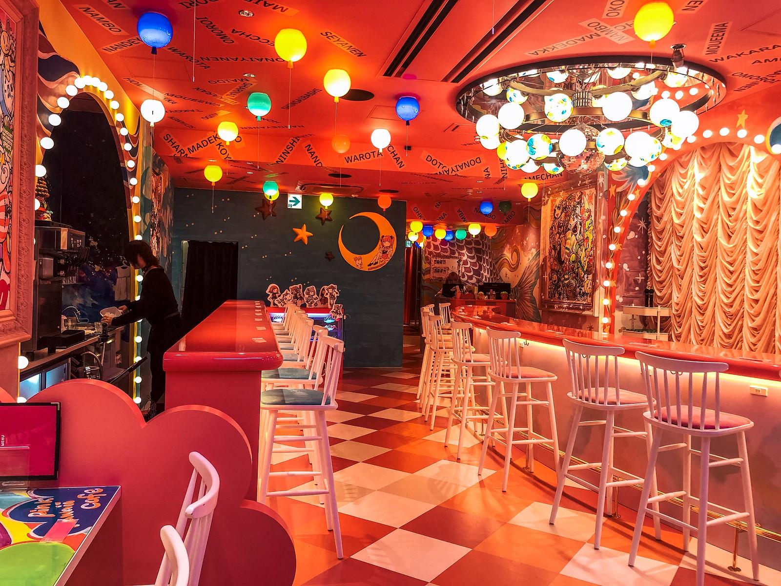 Pink Kawaii Cafe | 2 Days in Osaka