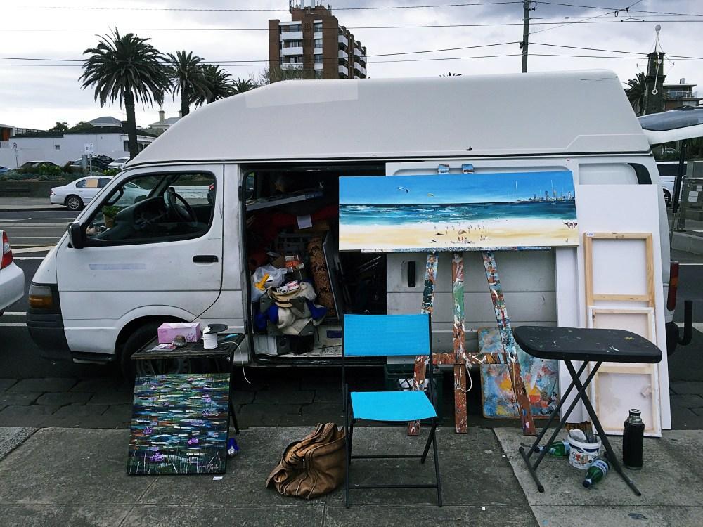 3 July 2016: St Kilda Esplanade Market | St. Kilda, Melbourne, Australia