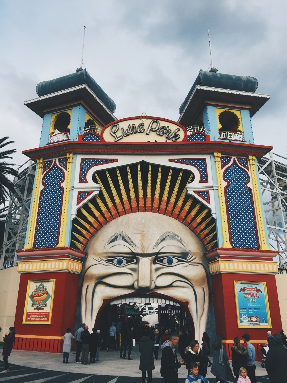 3 July 2016: Luna Park | St. Kilda, Melbourne, Australia