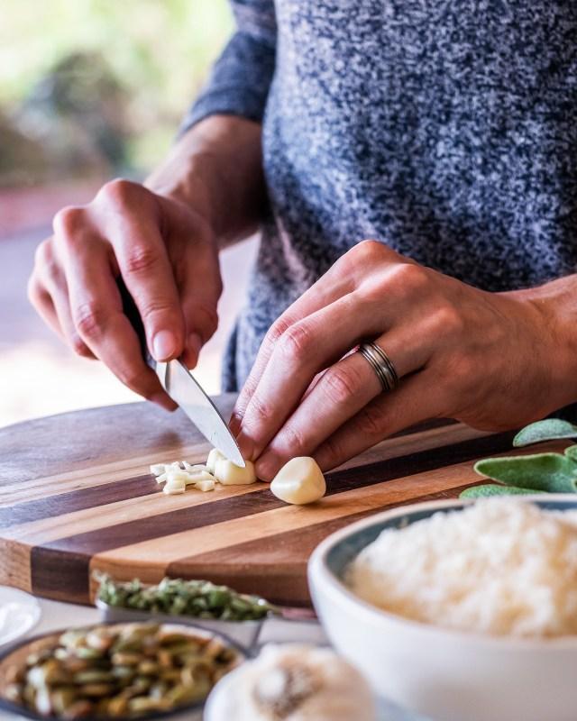 every pasta recipe needs garlic