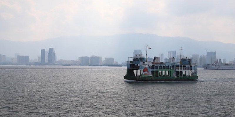 【2019再訪馬來西亞雙溪大年、檳城】從雙溪大年搭乘渡輪到檳島