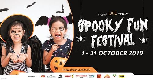 Kidzania Spooky Fun Festival