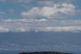 El Teide in Wolken