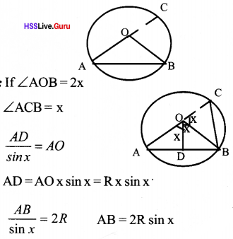 Kerala Syllabus 10th Standard Maths Solutions Chapter 5