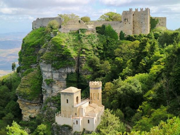 Castelo di Venere en Erice