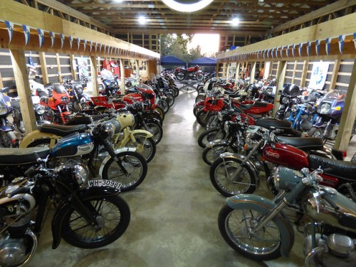 View Inside Todd's Bavarian Bike Barn [SOURCE; Andy Mueller]
