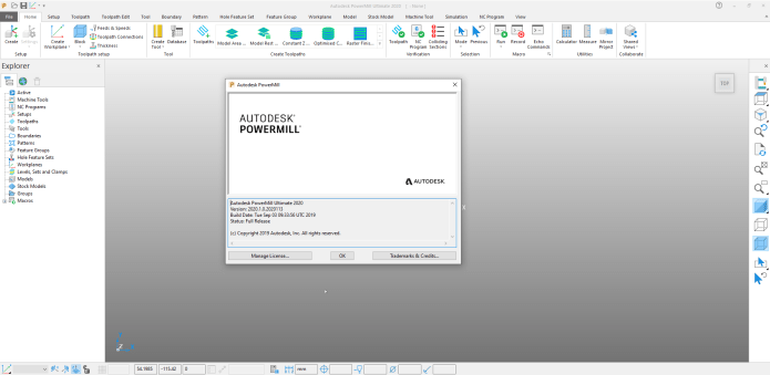 Programming with Autodesk PowerMill Ultimate 2020.1 full