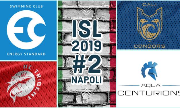 Napoli ISL2019 #2 | il Nuoto spettacolo fa tappa in Italia