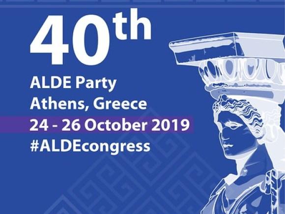 ALDE Party Congress in Athens, 24-26 October 2019