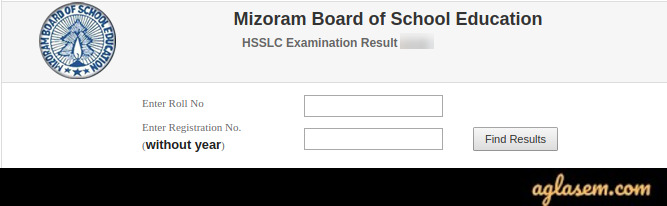 MBSE HSSLC Result Login