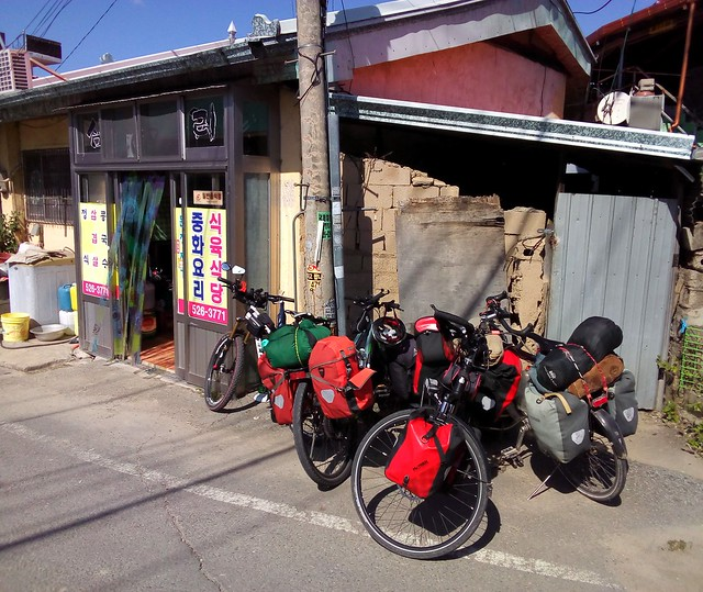 Lunch stop at a noodle restaurant by bryandkeith on flickr