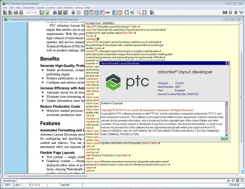 Working with PTC Arbortext Layout Developer 12.0 full