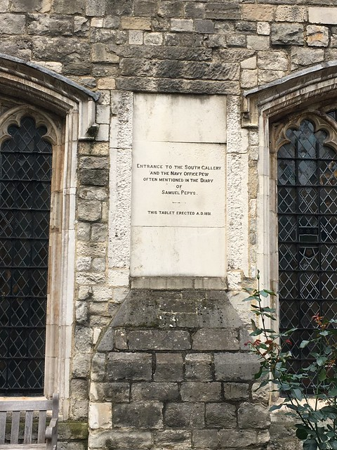 Pepys entrance to St. Olave's