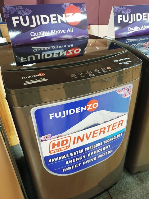Fujidenzo HD Inverter Washer
