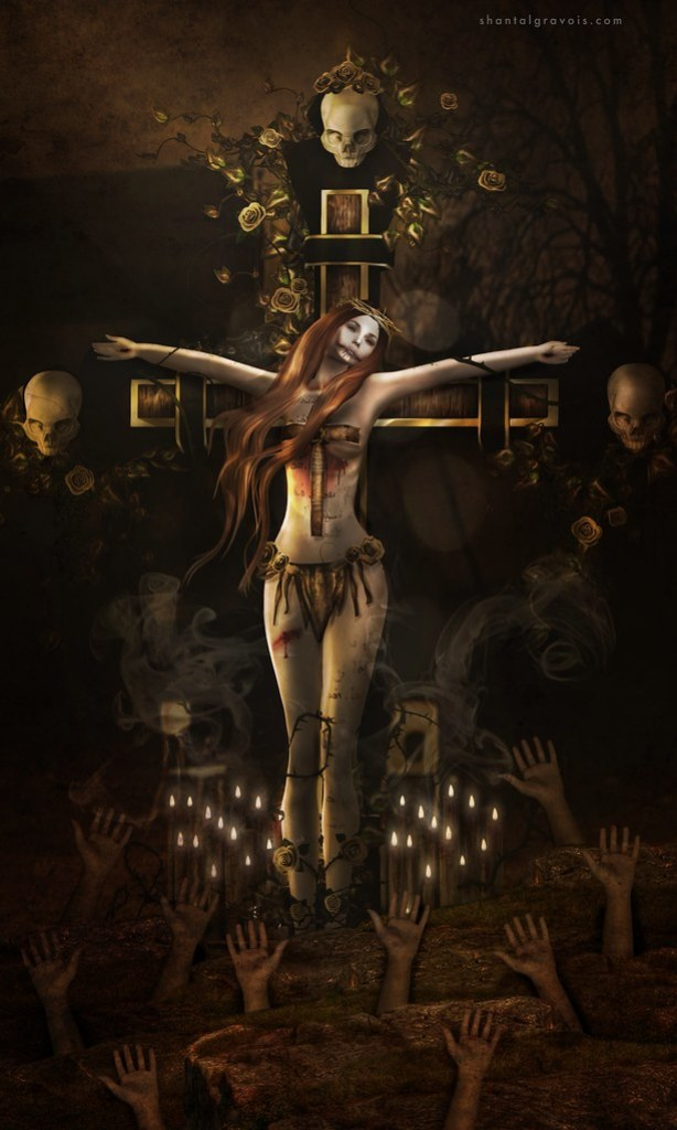 Crucify myself...