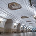 Russia. Moscow. Belorusskaya metro station.