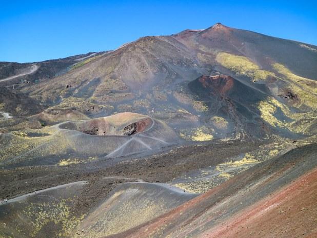 Visitar el volcán Etna en Sicilia