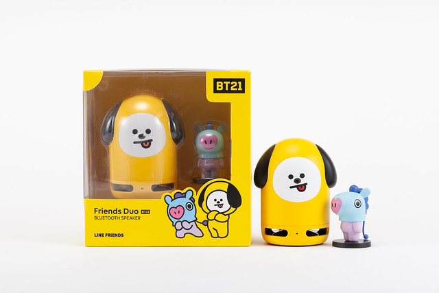 BT21 CHIMMY Speaker + MANG Figure