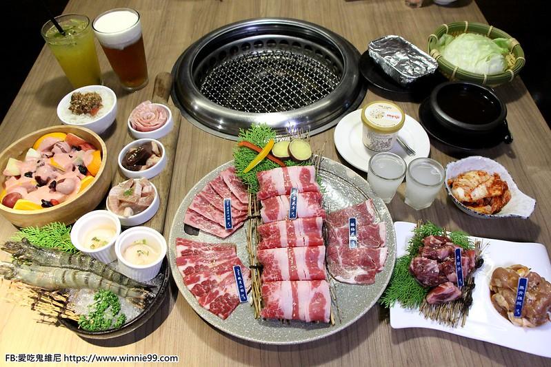 【雲火日式燒肉】臺中西屯區太原路上的燒肉美食,雙人套餐$1480就享有海陸盛宴,多達近十種肉,滿足你的 ...