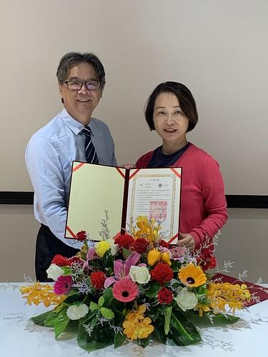 由元智大學吳志揚校長與桃園市政府青年局涂淳惠副局長代表簽訂合作意向書
