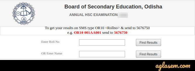 Odisha 10th name-wise result
