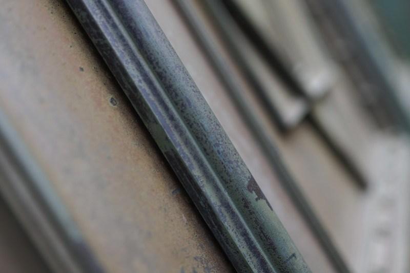 metal decoration of door
