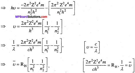 MP Board Class 11th Chemistry Solutions Chapter 2 परमाणु की संरचना 49