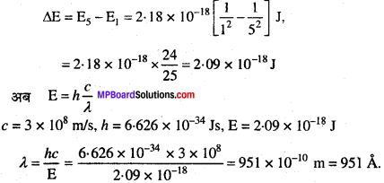MP Board Class 11th Chemistry Solutions Chapter 2 परमाणु की संरचना 12