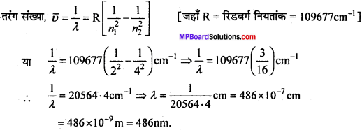 MP Board Class 11th Chemistry Solutions Chapter 2 परमाणु की संरचना 8