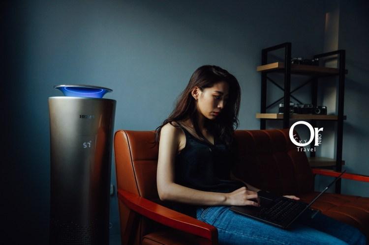 空氣清淨機開箱 HERAN 智能懸浮式多重偵測空氣清淨機,可遠端透過 APP 智能操控,360度清淨環繞搭配負離子、活性碳,潔淨 PM2.5 的髒空氣,禾聯空氣清淨機/智能清淨機